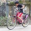 The bicyclist (Nagarjun) Tags: bicycle kerala cycle barefoot learning kiran kochi kanishka kinu aluva conventroad2 paravurjunction paravurkavala