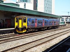 150221 at newport (47604) Tags: great newport western dmu class150 150221