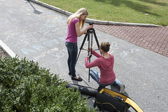 _ESF3923 (Elizabethtown College Marketing and Communications) Tags: camera fall students campus video commons communications bsc brossman