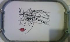 Dreams (leonilde_bernardes) Tags: girl dama mulher dreams reve sonhos bag projecto embroidery bordado love artesanato handcraft