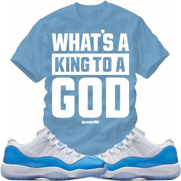 7af8dd19455e Jordan Retro 11 Low  quot UNC quot  Sneaker Tees Shirts (XGEAR101) Tags