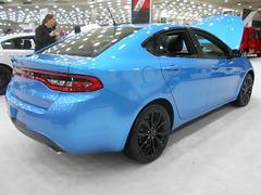 2016 Dodge Dart GT Blacktop (splattergraphics) Tags: 2016 dodge dart dartgt blacktop mopar fwdmopar carshow motortrendinternationalautoshow baltimoreconventioncenter baltimoremd