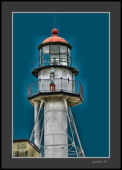 Lighthouse at Whitefish Point (the Gallopping Geezer '4.8' million + views....) Tags: lighthouse light warning caution boating boat ship historic old whitefishpoint mi michigan upperpeninsula up roadtrip park display water lake lakesuperior greatlake greatlakes canon 5d3 tamron 28300 geezer 2016
