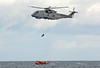 Merlin + Lifeboat (np1991) Tags: royal navy rn merlin hm2 820 naval air squadron nas culdrose hms queen elizabeth moray inshore rescue boat miro roseile beach kinloss burghead nikon digital slr dslr d7100 camera sigma 50500mm 50 500 50500 mm bigma lens aviation aircraft helicopter helo chopper