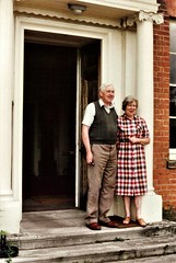 Mr & Mrs Cubitt of Honing Hall (photo by Margaret Bird)