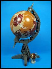 Global Issues (Karf Oohlu) Tags: lego moc globe planet sphere l