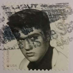 Elvis Presley (sftrajan) Tags: elvispresley postagestamp usps sello timbre elvis commemorative stamp philately briefmarke selopostal почтоваямарка poštovníznámka
