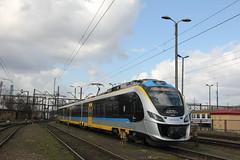 PR EN63A-027 , Wrocław Główny yard 15.03.2017 (szogun000) Tags: wrocław poland polska railroad railway rail pkp yard wrocławgłówny ezt emu set electric newag impuls en63a 36wea 36wea027 en63a027 pr przewozyregionalne train pociąg поезд treno tren trem passenger commuter regio 64418 dolnośląskie dolnyśląsk lowersilesia canon canoneos550d canonefs18135mmf3556is