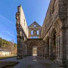 Kloster Paulinzella, Thüringen (ako_law) Tags: kloster paulinzella thüringen ruine romanisch romanik klosteranlage kirche portal eingang ptgui nodalninja nodalninja3markii stitching hdr canoneos6d sigma35mmf14dghsm sigma35mmf14dghsmart