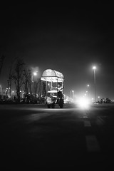 NIX_3213 (Nixson K) Tags: blackandwhite photography lights nightphotography canon5dmarkiv canon chennai marinabeach
