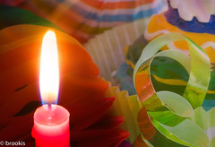 MM: Happy 10 Years (brookis-photography) Tags: macromondays happy10years birthday celebrations colourful candle