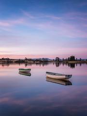 Loch Rusky (rgcxyz35) Tags: morning lochs trossachs water landscape lochrusky boats lomondtrossachs sunrise scotland