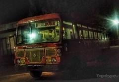 Bhokar - Akola (yogeshyp) Tags: msrtc maharashtrastatetransport msrtcparivartanbus bhokarakolastbus bhokardepotbus