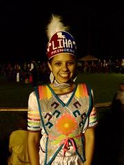 Lady of the Houma (/\ \/\/ /\) Tags: princess beautyqueen houmatribe dancer natchezmississippi 29thannualnatchezpowow nativeamericans mississippiriver traditionaldress festiveattire drumming singing drumcircle ritual grandvillageofthenatchezindians fatherlandplantation teenager