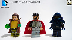 Purgatory, Zod & Darkseid (Random_Panda) Tags: lego figs fig figures figure minifigs minifig minifigures minifigure purist purists character characters comics superhero superheroes hero heroes super comic book books films film movie movies tv show shows television purgatory zod darkseid superman villains dc