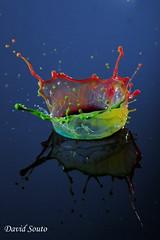 Gota multicolor (David Souto) Tags: gota agua water traffic warden nikon velocidad gotadeagua dropsofwater altavelocidad canon sony panasonic fuji