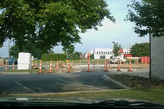 Chick fil-A new drive thru (l_dawg2000) Tags: chicken retail restaurant fastfood photoaday drivethru ms remodel chickfila expansion southaven project365 retailexpansion goodmanrd