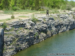 Wainfleet Quarry May 20, 2013 (Wolfmaan) Tags: camping ontario canada outdoors hiking barefoot barfuss wainfleet