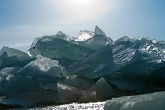 Kruiend ijs Gaast (www.willemhoogsteen.nl) Tags: gaast ijsschotsen