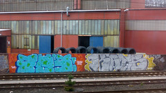 Graffiti in Hagen 2012 (kami68k [24.5. - 10x cologne]) Tags: graffiti chrome illegal hagen fh bombing bunt kats 2012