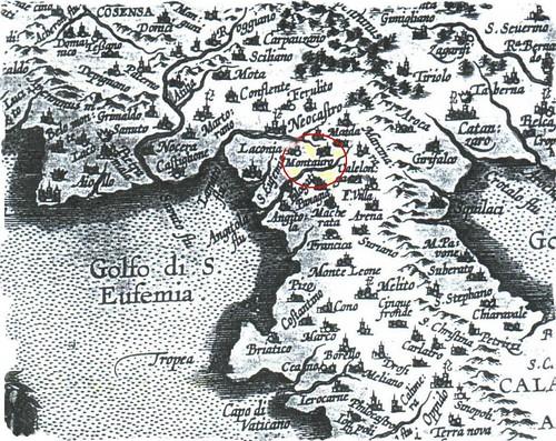 Carta Calabria centrale