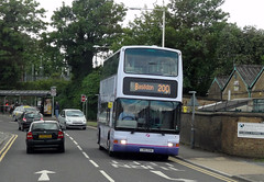 First 33047 (LN51DVM) Grays 25th May 2013 (BristolRE2007) Tags: bus buses first dennistrident ln51dvm