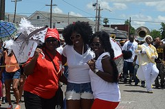 Original Big 7 Social Aid and Pleasure Club, Re-do Mother's Day Second Line Parade 2013