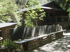 Wood Bridge at Tassajara