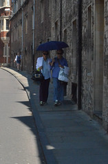 Street Scene (Arkensiel Photographs) Tags: street cambridge people umbrella unitedkingdom