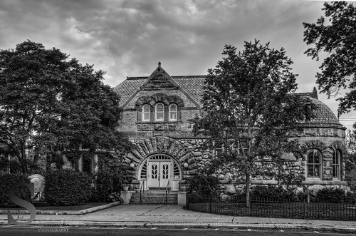 Taylor Library Milford Chamber of Commerce building-