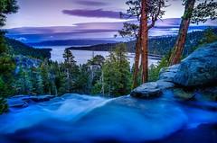 Eagle Falls Sunset Emerald Bay Lake Tahoe (Scott M. McGuire) Tags: california ca sunset landscape waterfall laketahoe granite sierranevada emeraldbay eaglecreek eaglefalls landscapephotography laketahoesunset laketahoewater pentaxsmcda15mmf40limited pentaxk5 scottmcguirephotography laketahoephotography laketahoegranite laketahoepicture