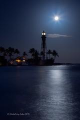 Hillsboro Inlet Full Moon and Lighthouse (MyKeyC) Tags: moon lighthouse fullmoon hillsboroinlet daarklands moonandlighthouse