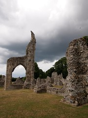 Thetford Priory (PhilnCaz) Tags: holiday history abandoned eh religious ruins norfolk ruin scenic historic desolate picturesque thetford summerholiday englishheritage thetfordpriory olympuse5 thetfordabbey philncaz theenglishheritage summerholiday2013