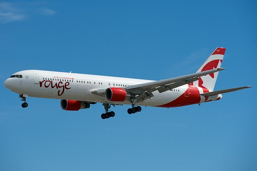 Air Canada Rouge Boeing 767-300ER C-GHPN by BriYYZ, on Flickr