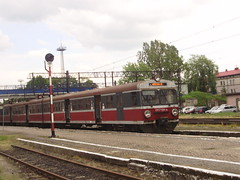 Weglinec (mostlybytrain) Tags: train loco emu locomotive easterneurope lok pkp dmu polsak