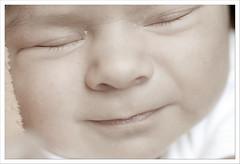 The sweetest smile (Roser <needsmorecaffeine>) Tags: baby smile angel pleasure tranquillity placidity