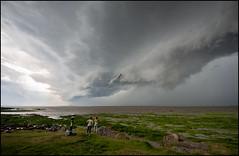 St-Jean-Port-Joli, orage sur le fleuve St-Laurent (Réal Filion) Tags: cloud canada storm river québec nuage fleuve tempête