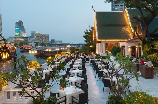 マンダリン オリエンタル バンコクのオススメポイント:テラス リム ナーム(タイ料理レストラン)