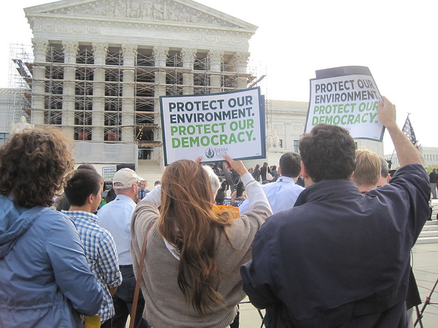Supreme Court McCutcheon Rally