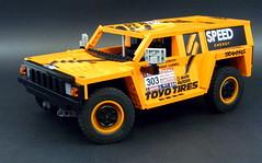 01 (LegoMarat) Tags: lego rally technic dakar raid hummer pf modelteam moc powerfunctions