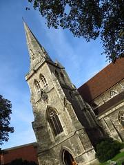 Church spire (Pat's_photos) Tags: church grey spire 365d