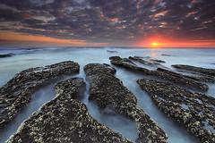 The Rock (agusekakurniawan) Tags: sunset bali sun seascape beach rock stone landscape photography cloudy
