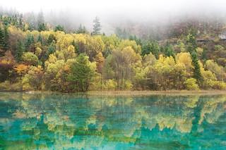 Jiuzhaigou fall colors