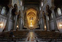 Catedral de Monreale (dnieper) Tags: italia catedral sicilia monreale navecentral