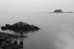IMG_4270 (HDH.Lucas) Tags: sea people monochrome landscape lucas cannon