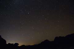 Starscape lit by Aqaba lights (livwhite19) Tags: stars wadirum jordan aqaba