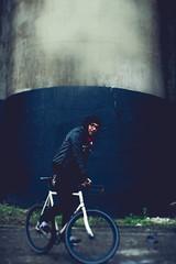 (B R A N D) Tags: urban chicago bike canon illinois silo marco fixed silos fixie exploration brand damen urbex mrbluesky 2013 krisbrand ©2013