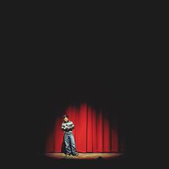 Stage Fright {explore} (Randomographer) Tags: school announcer public dark theater play theatre live stage curtain performance spotlight mc explore master event nervous presentation staged speaking fright ceremonies emcee compère rslphotography rslphotographics