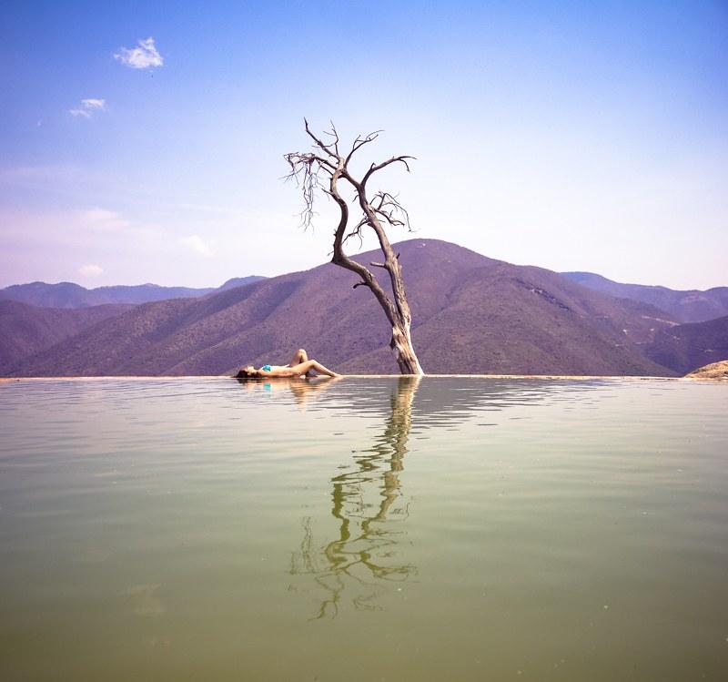 Hierve el agua México