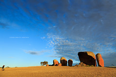 Murphy's Haystacks (john white photos) Tags: morning rock australian australia formation granite southaustralia eyrepeninsula murphyshaystacks